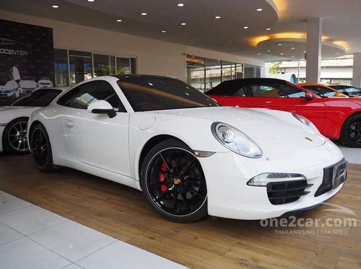 2013 Porsche 911 Carrera S 3.8 991 Coupe AT