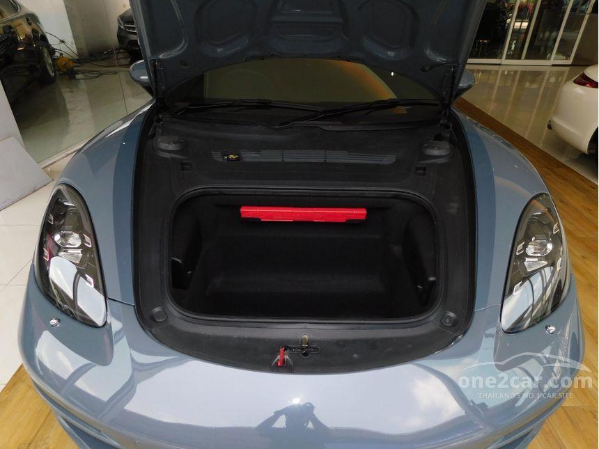 2017 Porsche 718 2.0 718 Boxster Convertible AT
