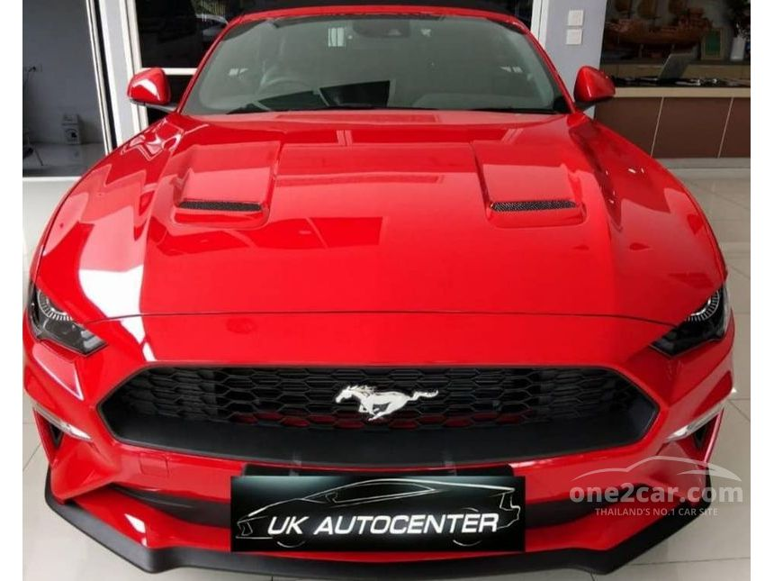 2018 Ford Mustang 2.3 EcoBoost Coupe AT
