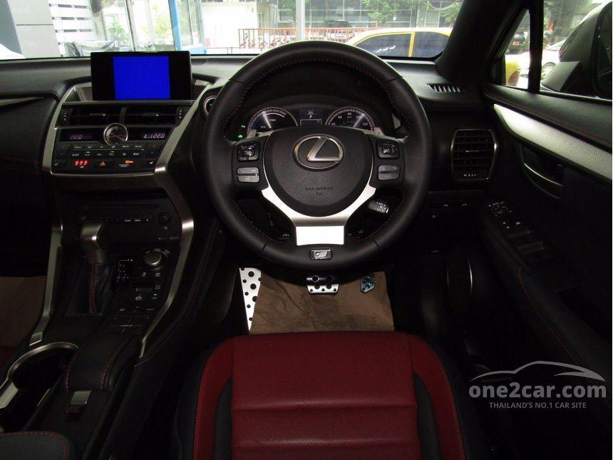 2017 Lexus NX300h 2.5 (ปี 14-17) F SPORT SUV AT