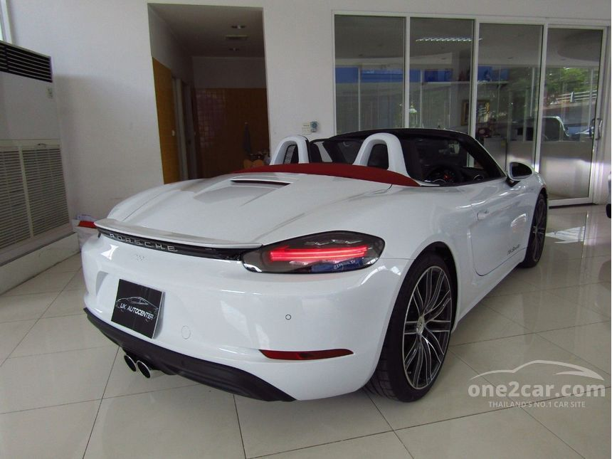 2017 Porsche 718 2.0 718 Boxster Convertible AT