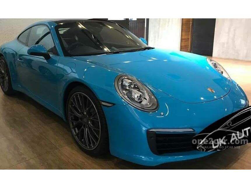 2017 Porsche 911 Carrera 3.0 991 PDK Coupe AT
