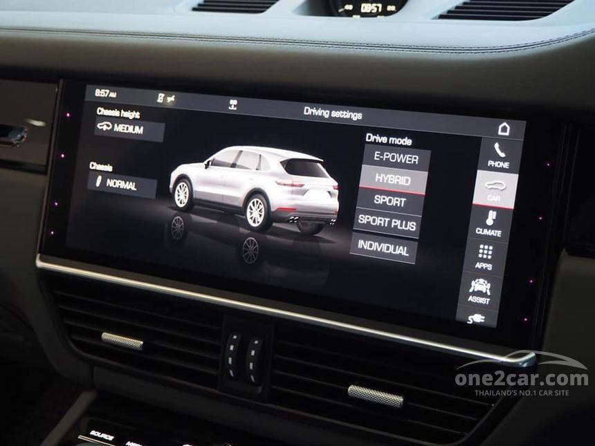 2019 Porsche Cayenne 3.0 (ปี 18-25) E-Hybrid SUV AT