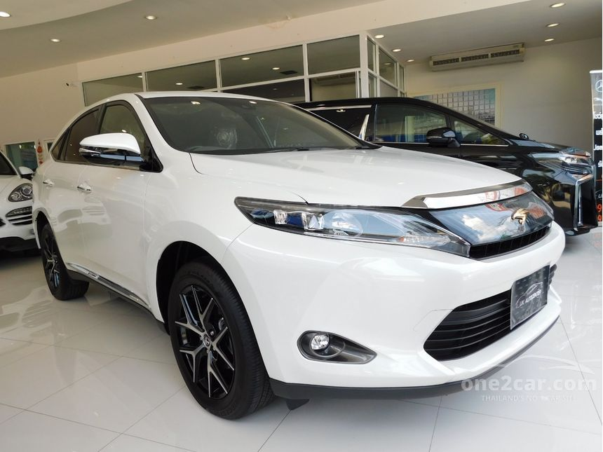 2018 Toyota Harrier 2.0 (ปี 14-17) PREMIUM Wagon AT