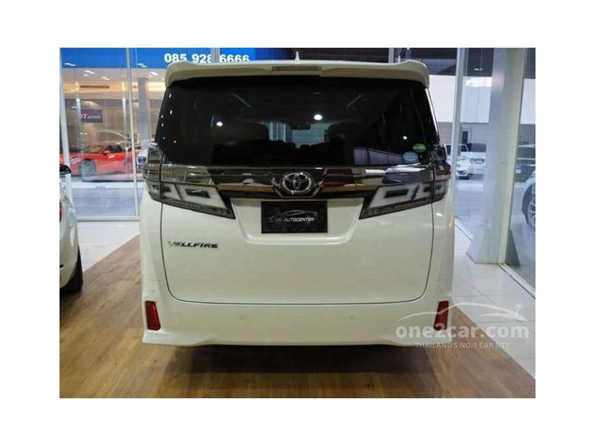 2018 Toyota Vellfire 2.5 (ปี 15-18) Van AT