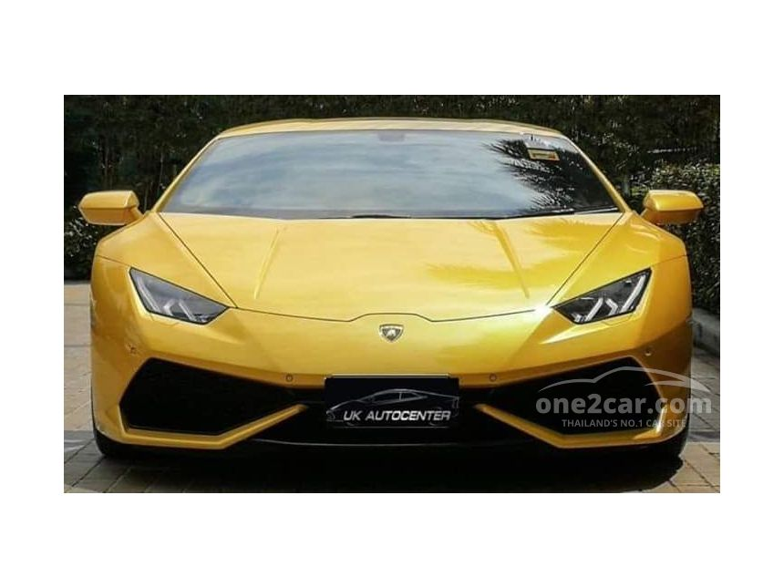 2016 Lamborghini Huracan 5.2 (ปี 14-17) LP610-4 Coupe AT