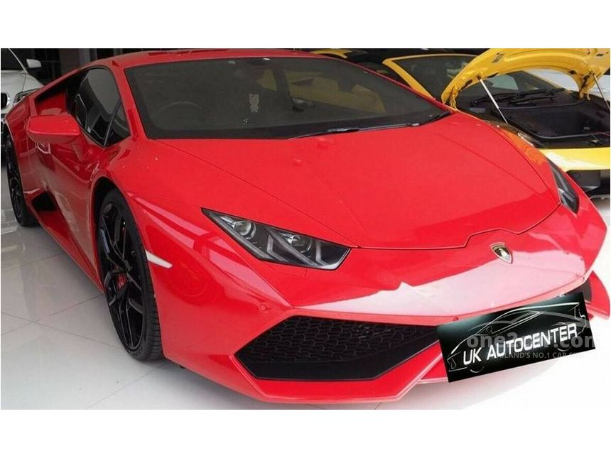 2015 Lamborghini Huracan 5.2 (ปี 14-17) LP610-4 Coupe AT