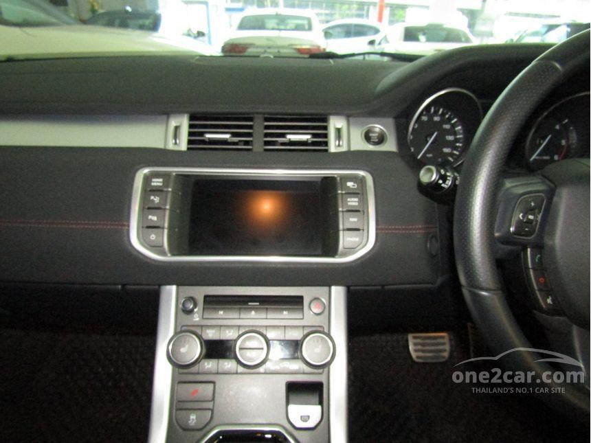 2013 Land Rover Range Rover 2.2 (ปี 11-15) Evoque SD4 SUV AT