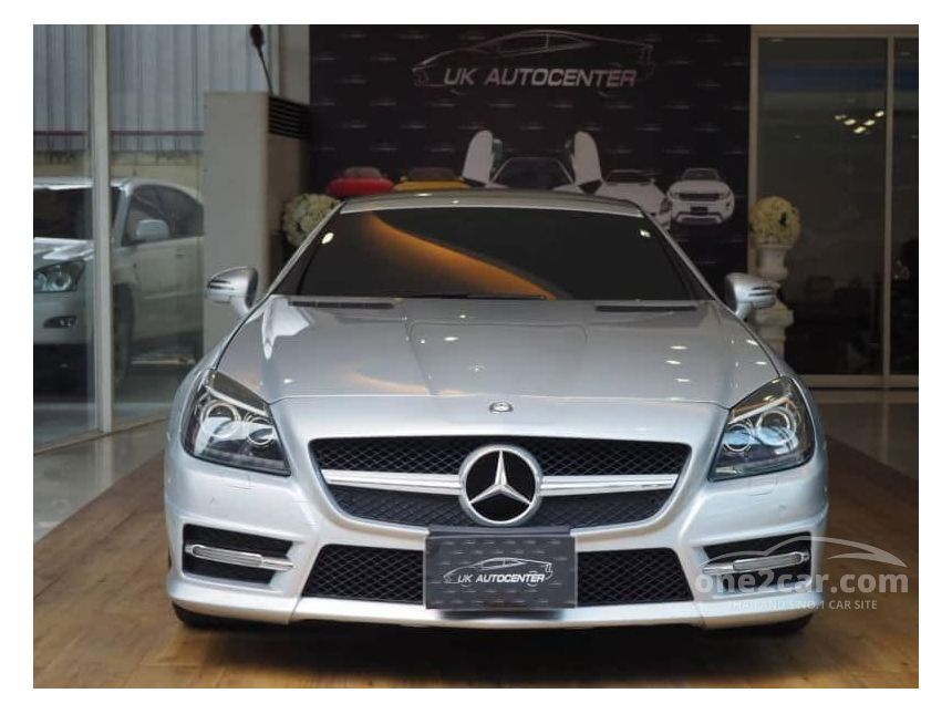 2012 Mercedes-Benz SLK200 BlueEFFICIENCY AMG 1.8 R172 (ปี 11-16) Sports Convertible AT