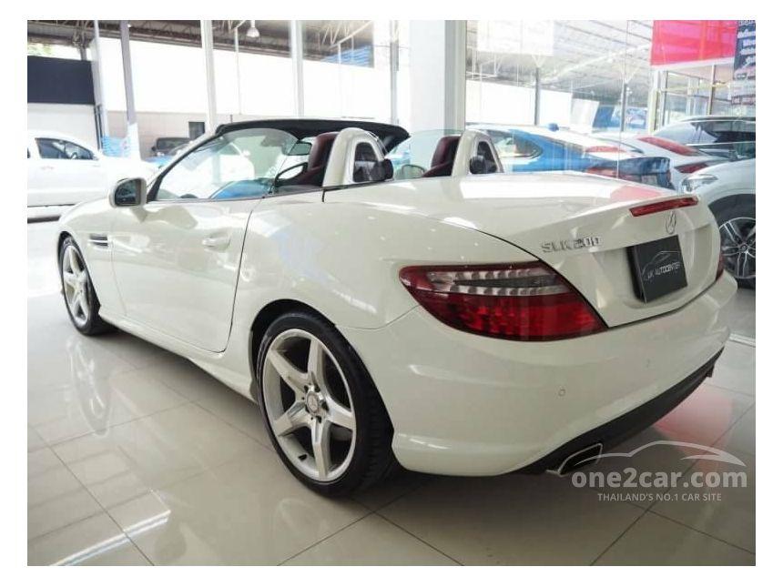 2013 Mercedes-Benz SLK200 1.8 R172 (ปี 11-16) Convertible AT