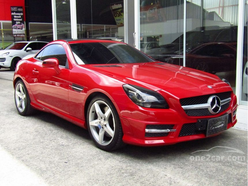 2012 Mercedes-Benz SLK250 BlueEFFICIENCY 1.8 R172 (ปี 11-16) Sport Convertible AT