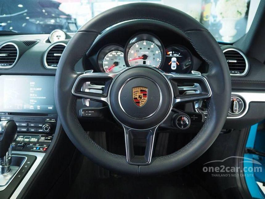 2017 Porsche 718 2.0 Cayman Coupe AT