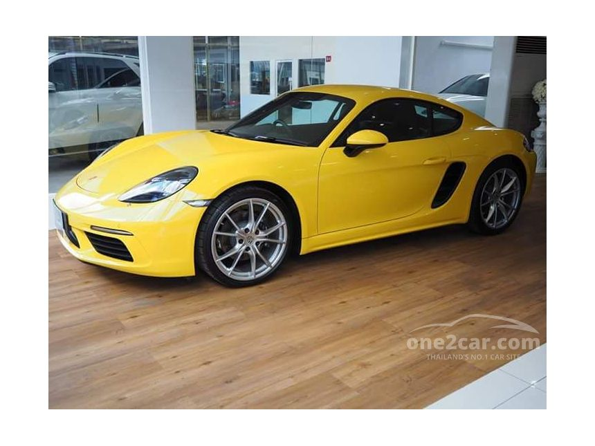 2018 Porsche 718 2.0 982 Cayman Coupe AT