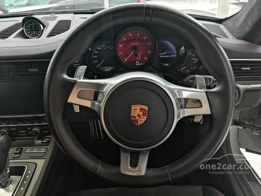 2015 Porsche 911 Carrera GTS 3.8 991 PDK Coupe AT