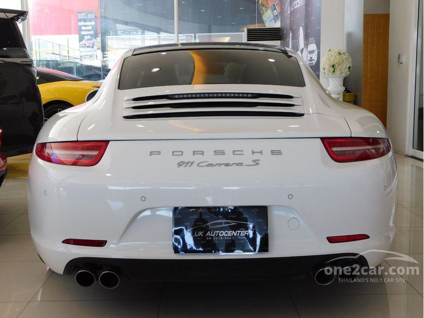 2012 Porsche 911 Carrera S 3.8 991 Coupe AT