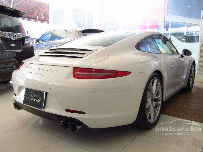 2012 Porsche 911 Carrera S 3.8 991 Coupe AT